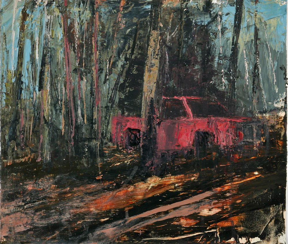 Abandoned pickup I