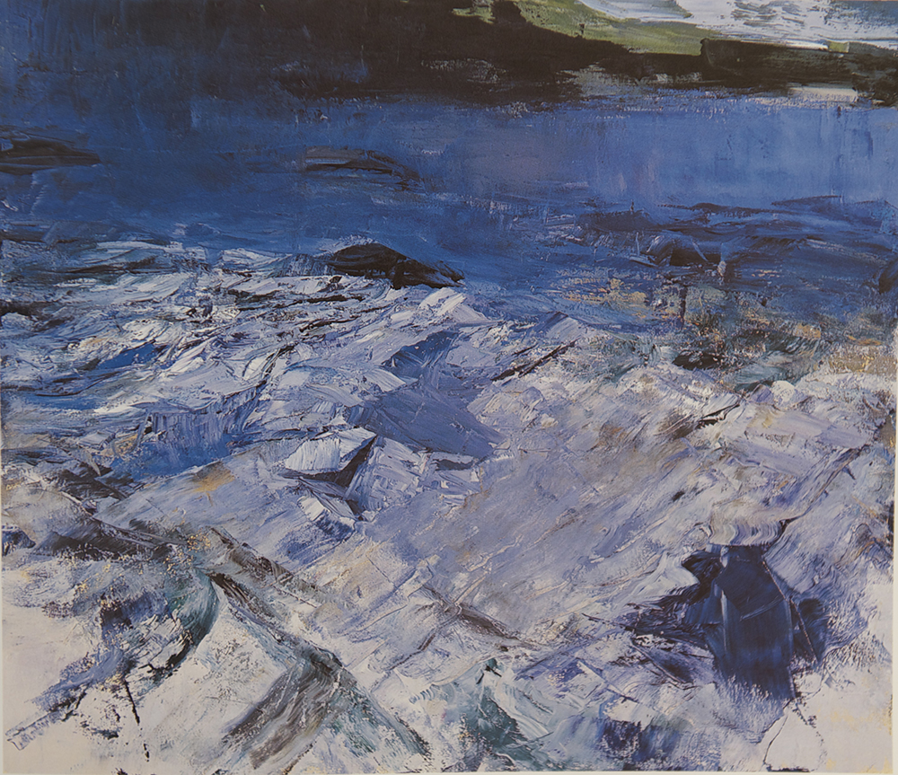 Cromwell Point 2005 132 x 152 cm oil on canvas