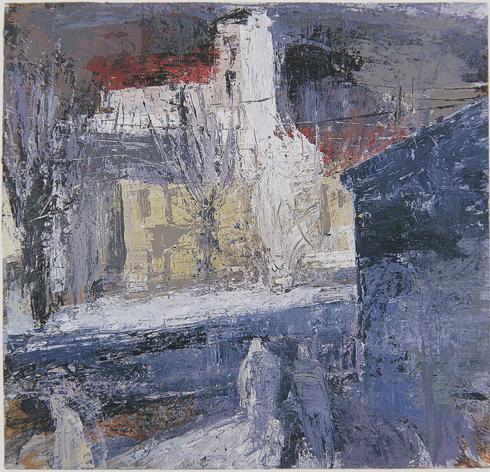 Figures in the Snow