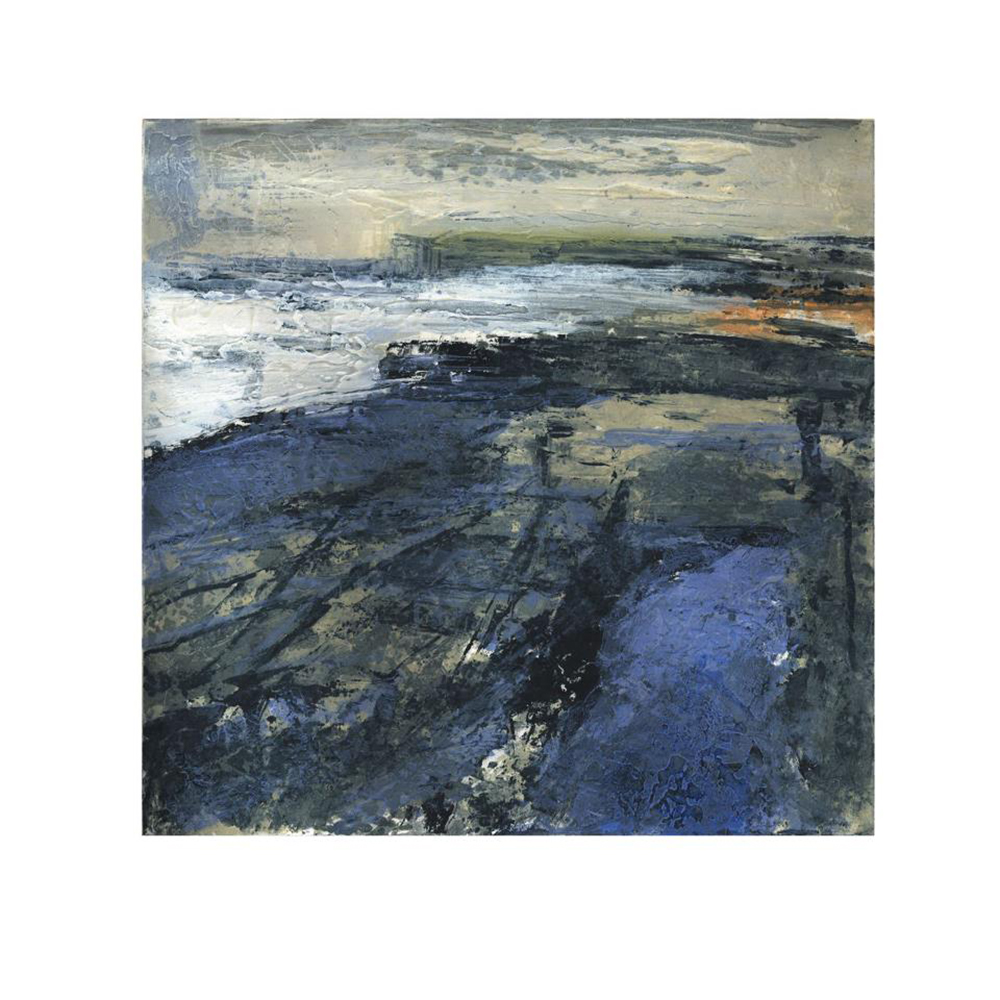Fractured shoreline I  - 2012
