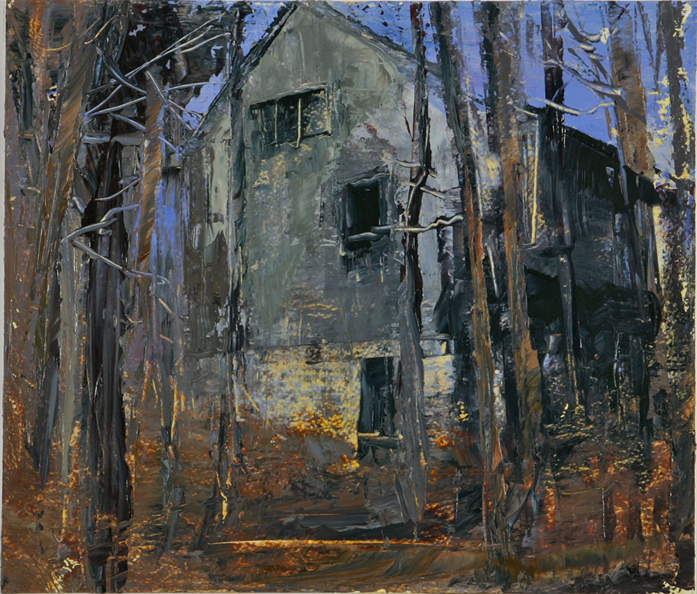 House in the Forest I 2006 30.5 x 35.5 acrylic on paper