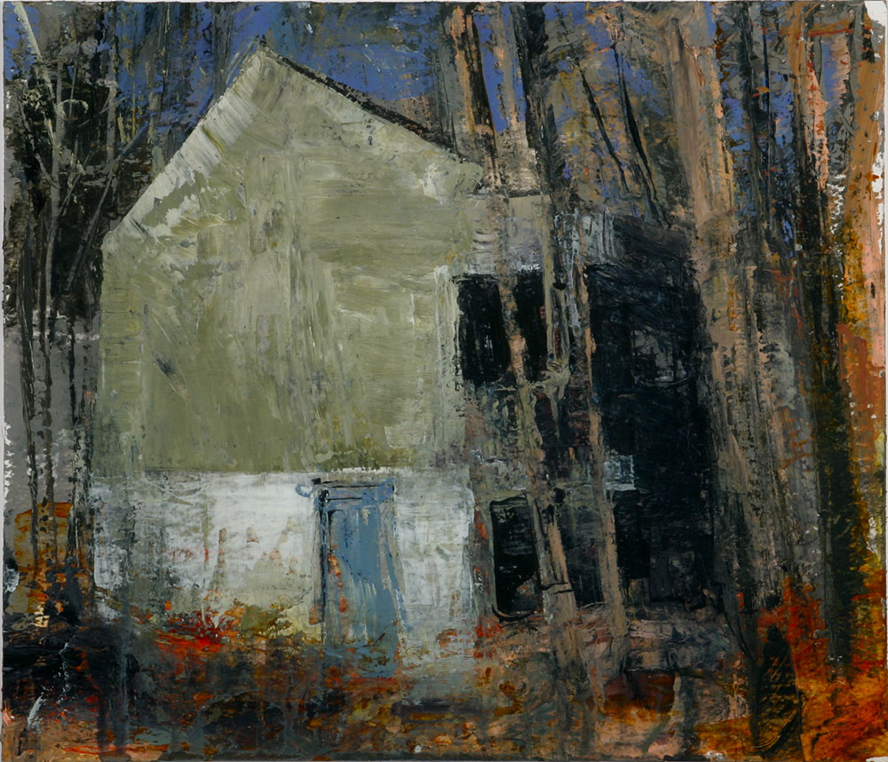 House in the Forest II 2006 30.5 x 35.5 acrylic on paper