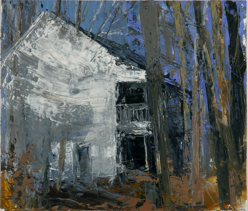 House in the Forest III 2006 30.5 x 35.5 acrylic on paper