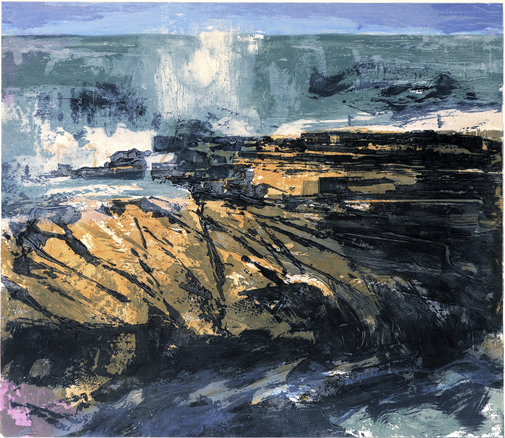 Shoreline variation I  - 2006 - Carborundum 