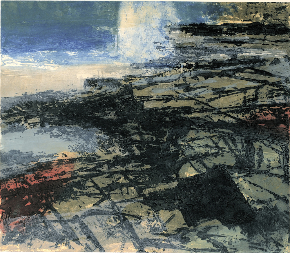 Shoreline variation III  -2006 - Carborundum 