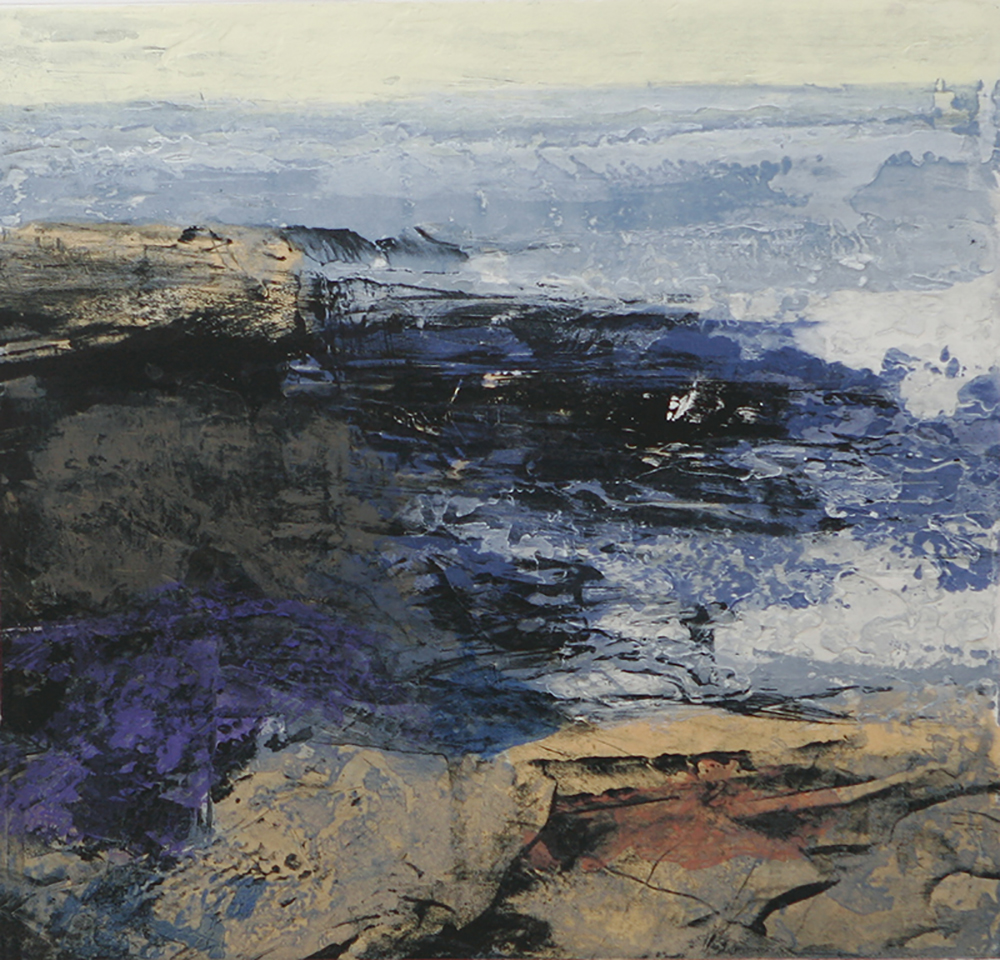 Fractured shoreline III  -  2013
