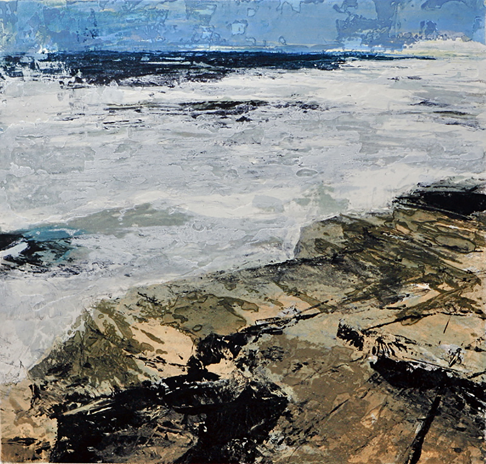 Fractured shoreline IV   -  2013