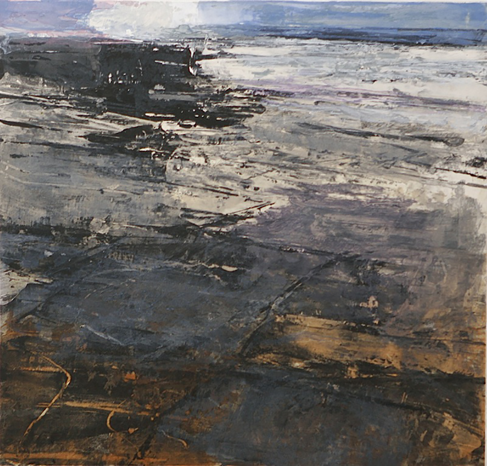 Fractured shoreline V   -  2013