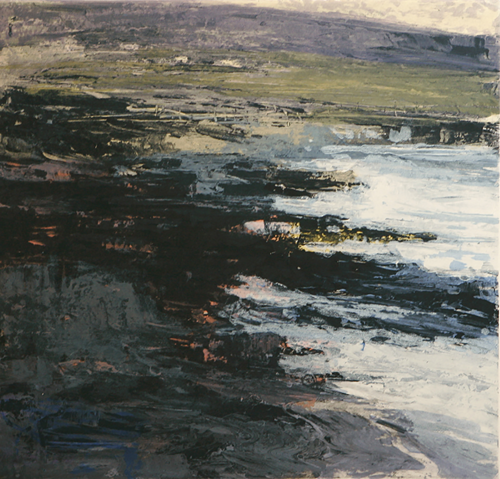 Fractured shoreline VI    -  2013