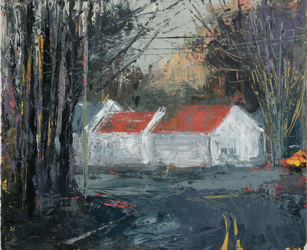 At the Litchfield turnpike