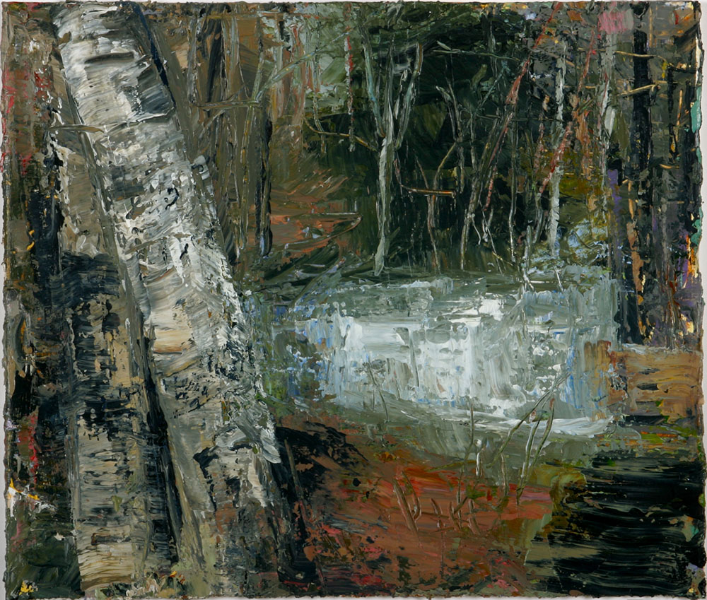 The pond